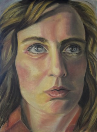Pastel Drawing of Lauren Haylock