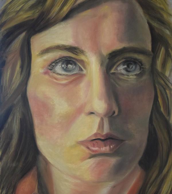 Pastel Drawing of Lauren Haylock